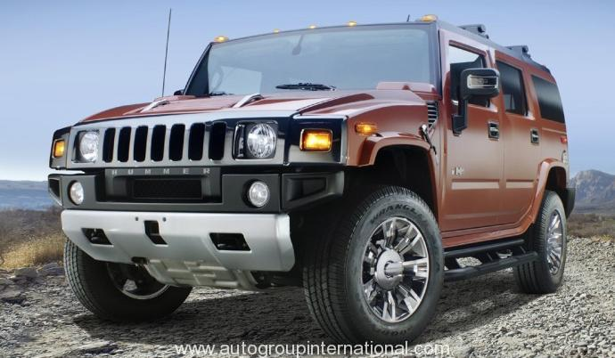 Right hand drive Hummer